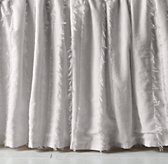 Frayed Voile Crib Skirt