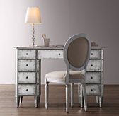 Ava Mirrored Storage Desk