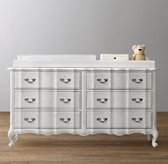 Marais Wide Dresser & Topper Set