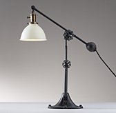 Industrial Era Task Lamp - Cream