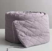 Garment-Dyed Diamond Quilted Crib Bumper