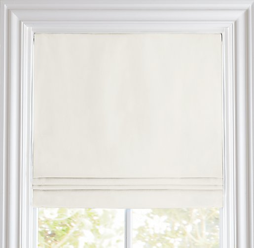 Linen Cotton Cordless Roman Shade