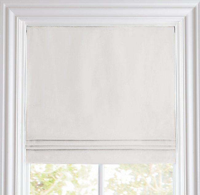 Linen Cotton Cordless Roman Shade