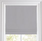 Linen-Cotton Cordless Roman Shade