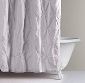Pintucked Bow Shower Curtain