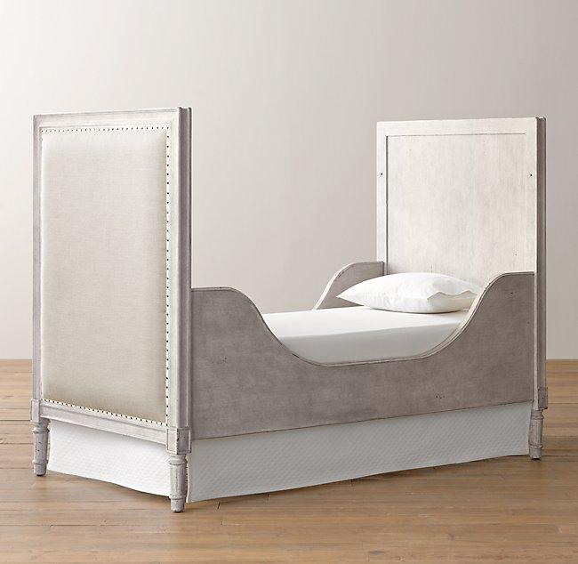 Marcelle Crib Toddler Bed Conversion Kit - Vintage Grey