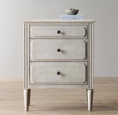 Marcelle 3-Drawer Nightstand