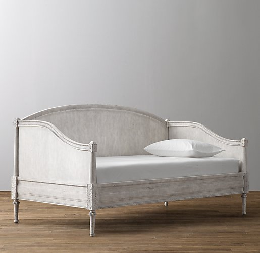 Daybed Vintage bellina arched panel daybed - vintage grey