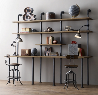 hudson bookcases industrial goods pin bookcase