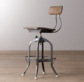 Mini Vintage Toledo Stool - Steel