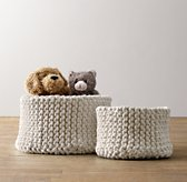 Knit Cotton Storage - Natural