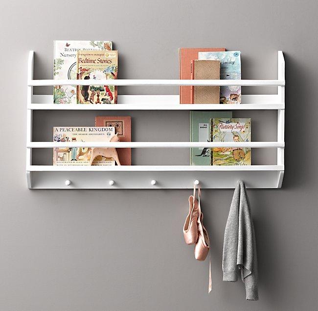 Wood Book Display Shelves Small