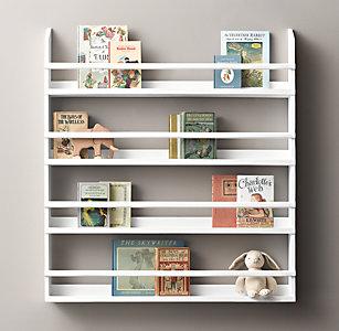 Wood Book Display Shelves - Large