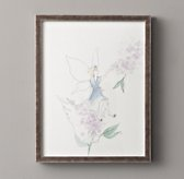 Flower Fairy Illustration - Lilac