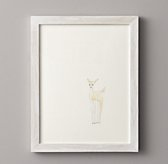 Watercolor Animal Illustration - Deer