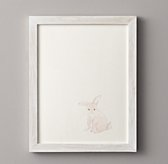 Watercolor Animal Illustration - Bunny