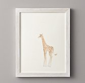 Watercolor Animal Illustration - Giraffe