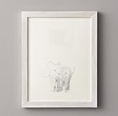Watercolor Animal Illustration - Elephant
