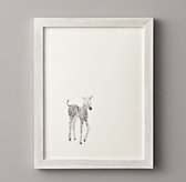 Watercolor Animal Illustration - Zebra