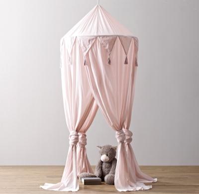 & Cotton Voile Play Canopy - Petal