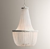 Dauphine Frosted Glass Empire Chandelier