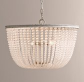 Dauphine Frosted Glass Large Pendant