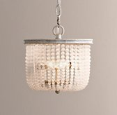 Dauphine Frosted Glass Small Pendant