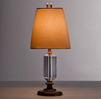 Rennes crystal column table lamp base aloadofball Choice Image