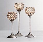 Claridge Candlestick Accent Lamp - Set of 3