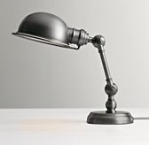 Mini Academy Task Table Lamp - Antique Brushed Nickel