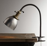 Industrial Era Task Clip Lamp - Pewter