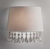 Nathalie Crystal Shaded Sconce