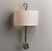 Calla Sconce - Aged Metal