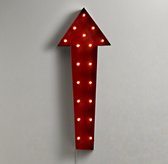 Vintage Illuminated Oversized Arrow