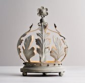Vintage Crown Accent Lamp