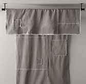 Classic Vintage-Washed Patchwork Canvas Swag Canopy