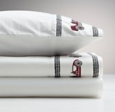 Embroidered Vintage Roadster Standard Pillowcase