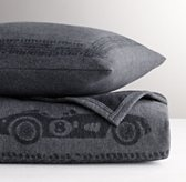 European Jacquard Roadster Blanket