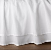 Gathered Voile Crib Skirt