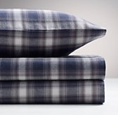 Washed Classic Plaid Standard Pillowcase