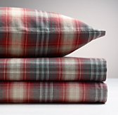 Washed Classic Plaid Sheet Set