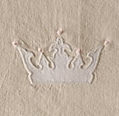 Appliquéd Crowns Bedding Swatch