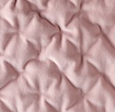 Reversible Washed Velvet & Satin Quilted Bedding Swatch