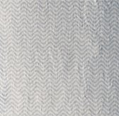 Washed Organic Linen Chevron Print Bedding Swatch