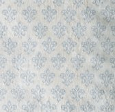 Washed Organic Linen Paisley Print Bedding Swatch