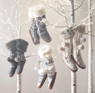 Fair Isle Knit & Luxe Faux Fur Slipper Socks