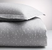 Dotted Flannel Duvet Cover