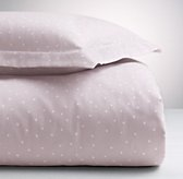 Dotted Flannel Sham
