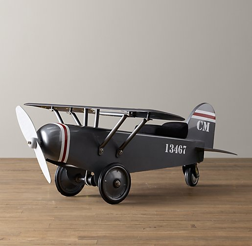 Vintage Army Plane Scoot
