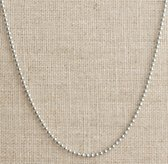 "24"" Sterling Silver Ball Chain for Rivet Tags"